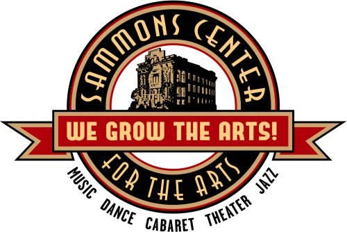Logo for Sammons Center for the Arts: We Grow the Arts!