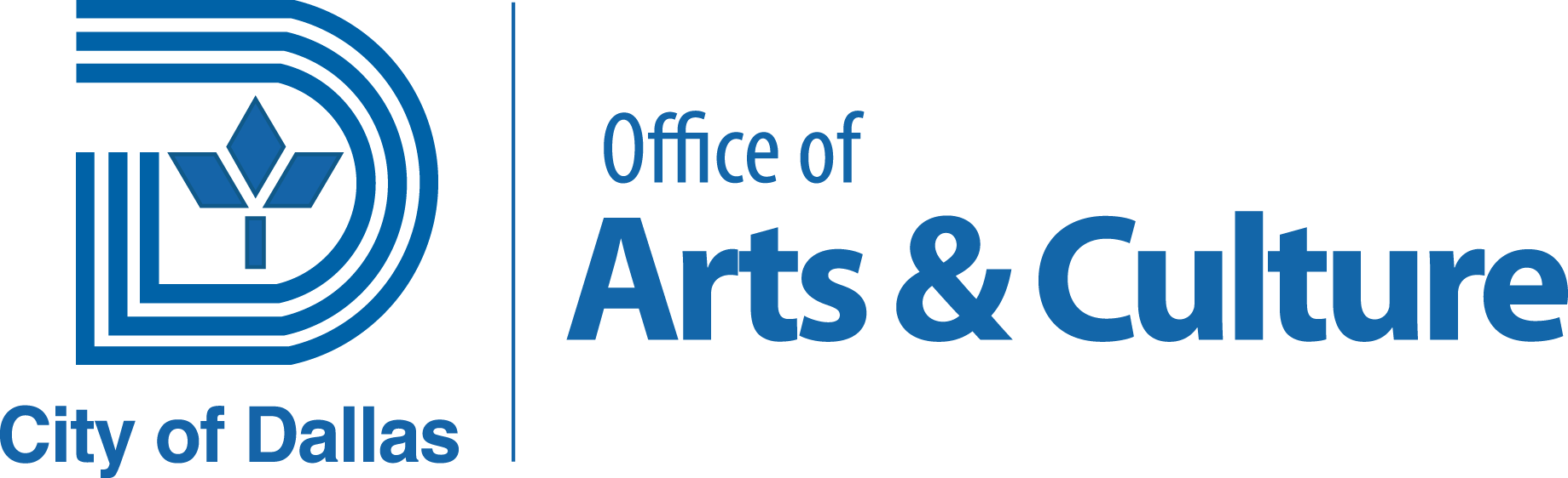 Logo for City of Dallas - Office of Arts & Culture